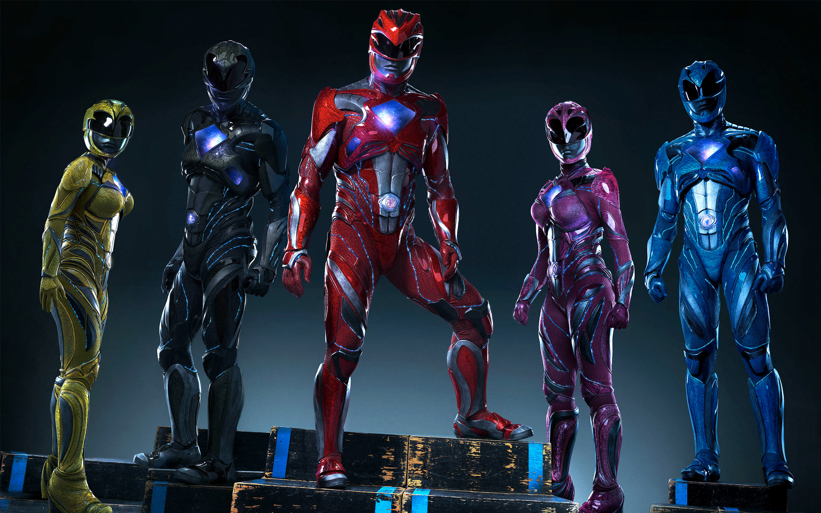 Mighty Morphin Power Rangers 2017 wallpapers 2880x1800
