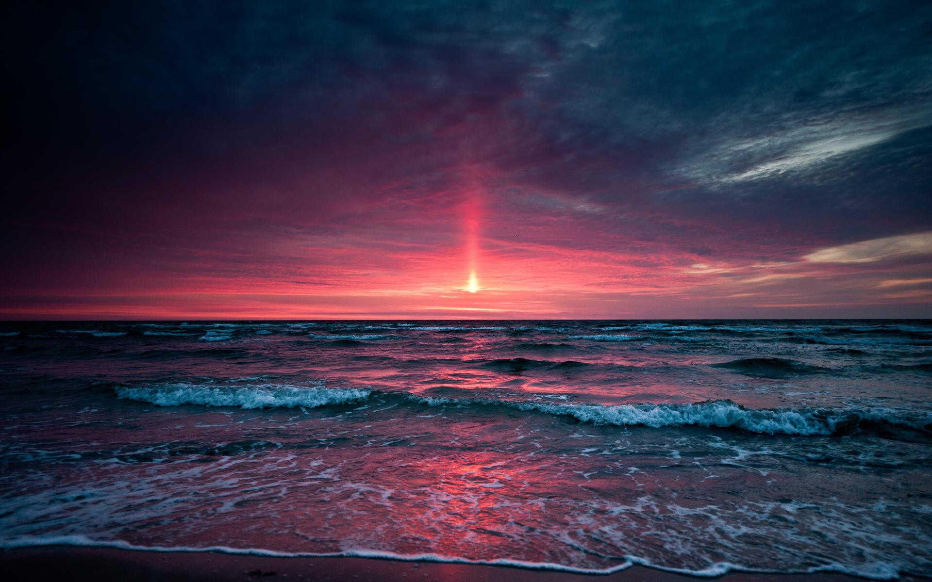 beach sunset superb wallpaper beaches walls 1920x1200 1920x1200