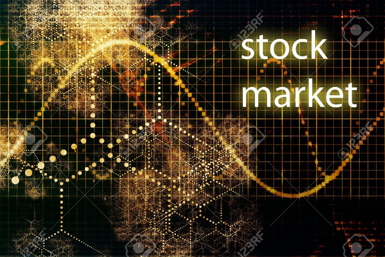 Stock Market Abstract Business Concept Wallpaper Stock Photo 1300x866