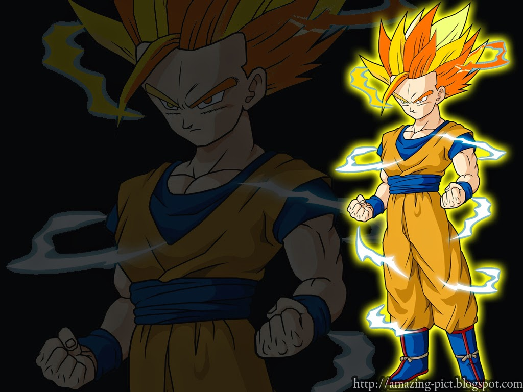 Free Download Teen Gohan Super Saiyan 2 Wallpaper Download 1024 X