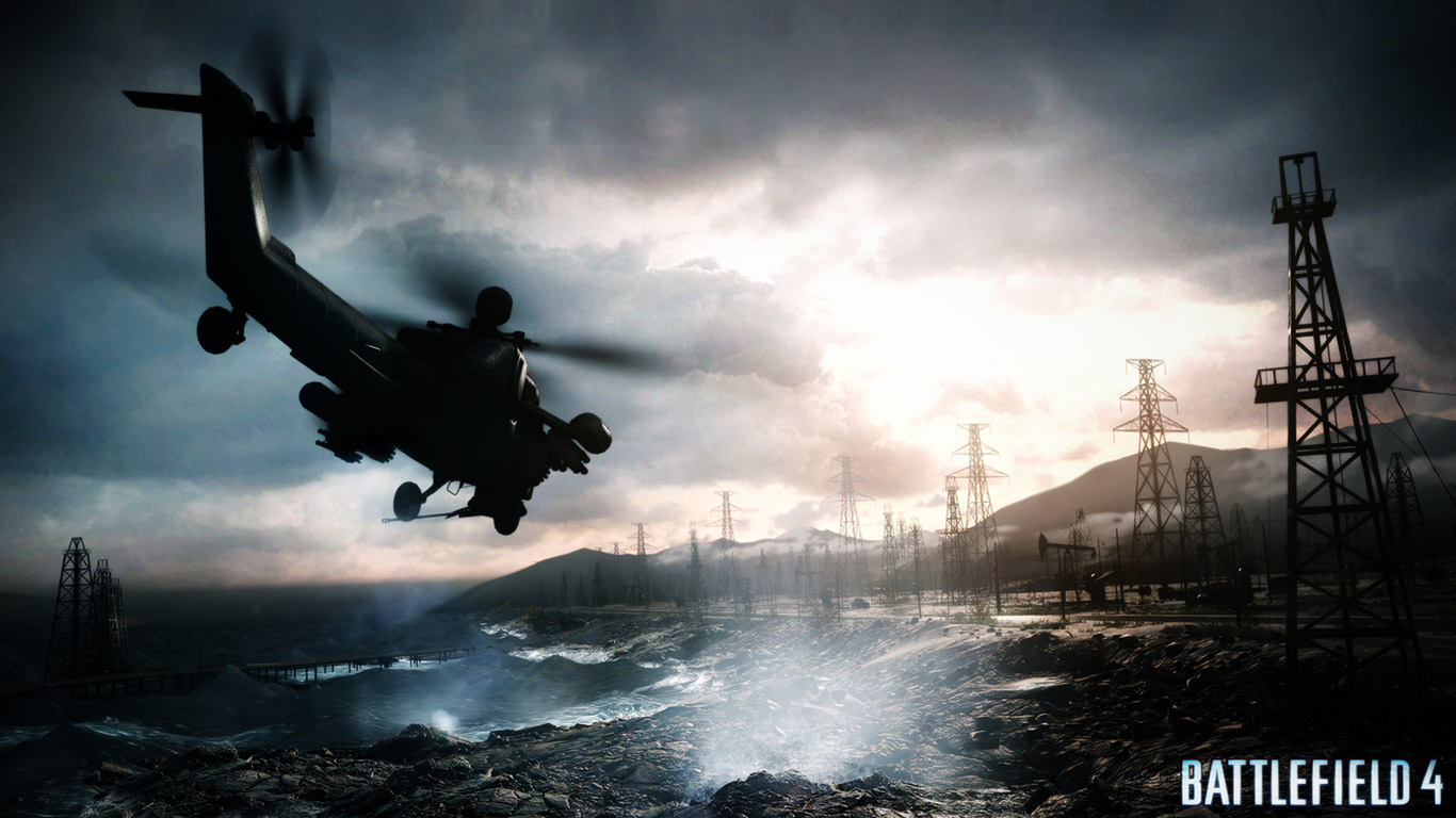Battlefield 4 Wallpaper 1366x768 - WallpaperSafari