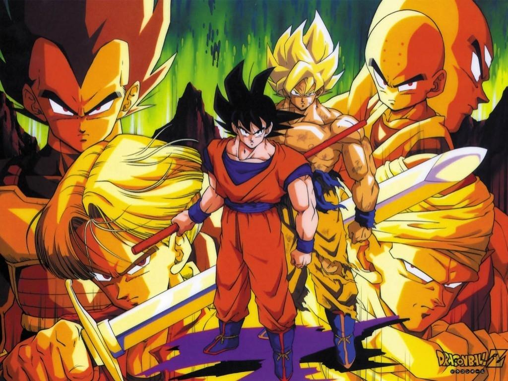 Dragon Ball Z Af 417 Hd Wallpapers in Cartoons   Imagescicom 1024x768