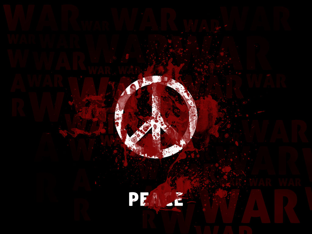 Peace wallpaper by Grafilabs 1024x768