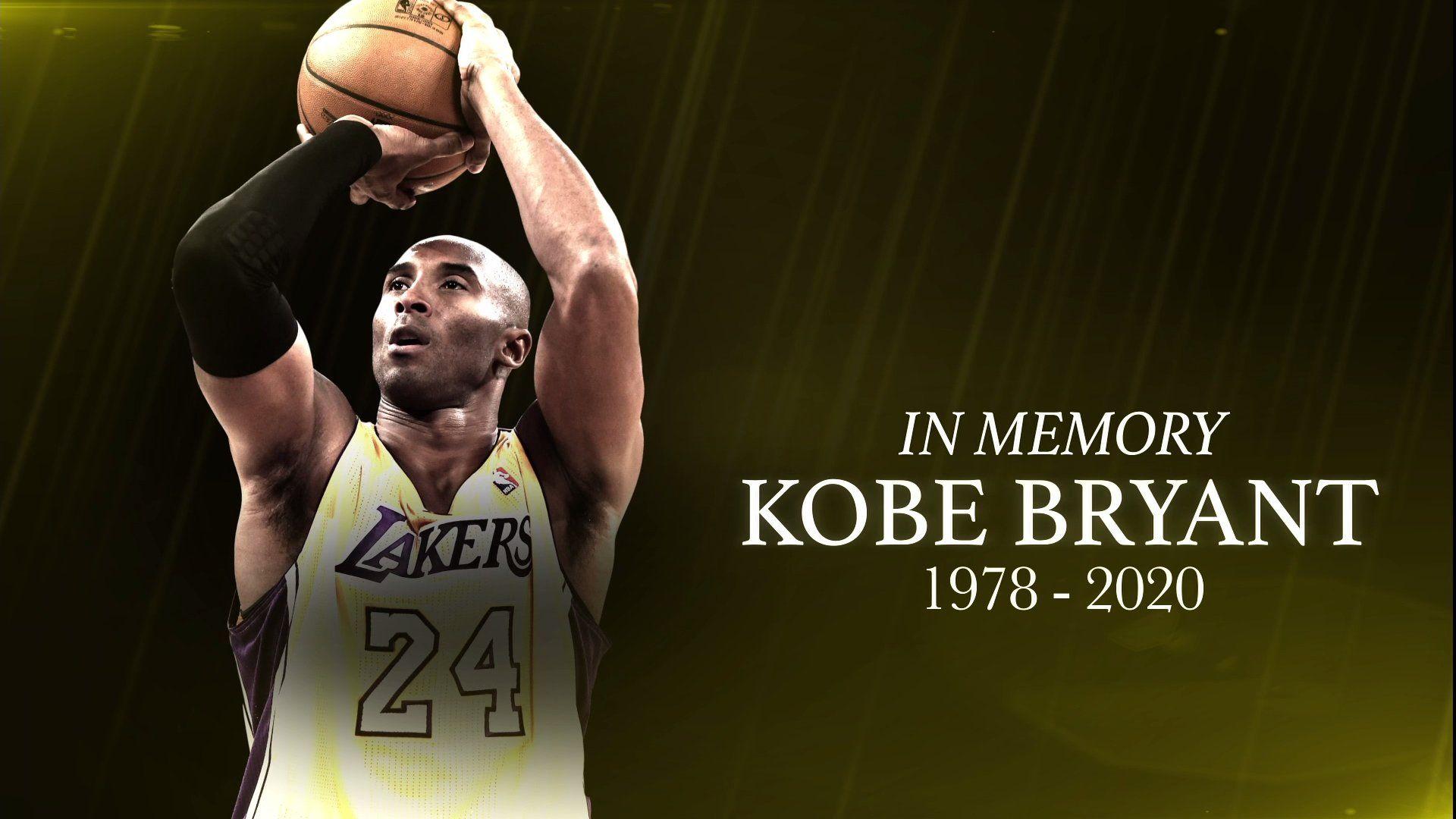 Rip Kobe Bryant Wallpapers   Top Rip Kobe Bryant Backgrounds 1920x1080