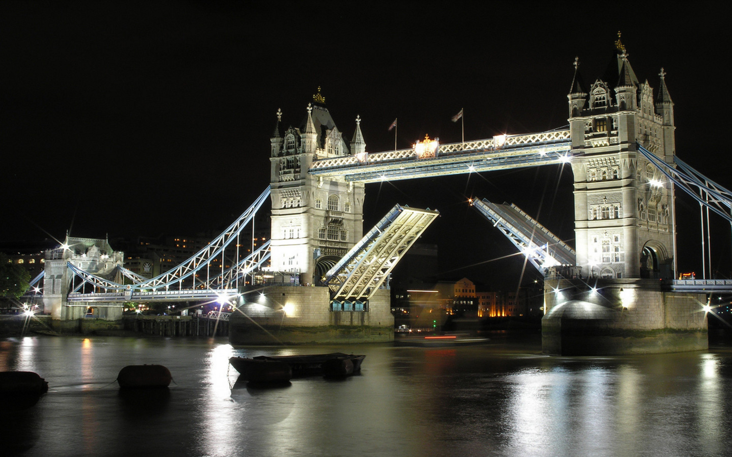 London Bridge Night Wallpapers HD Wallpapers 2560x1600