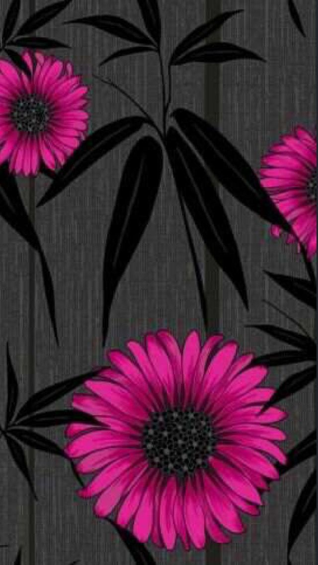 Black Pink Mystique Pink Black Black wallpaper iphone 640x1136