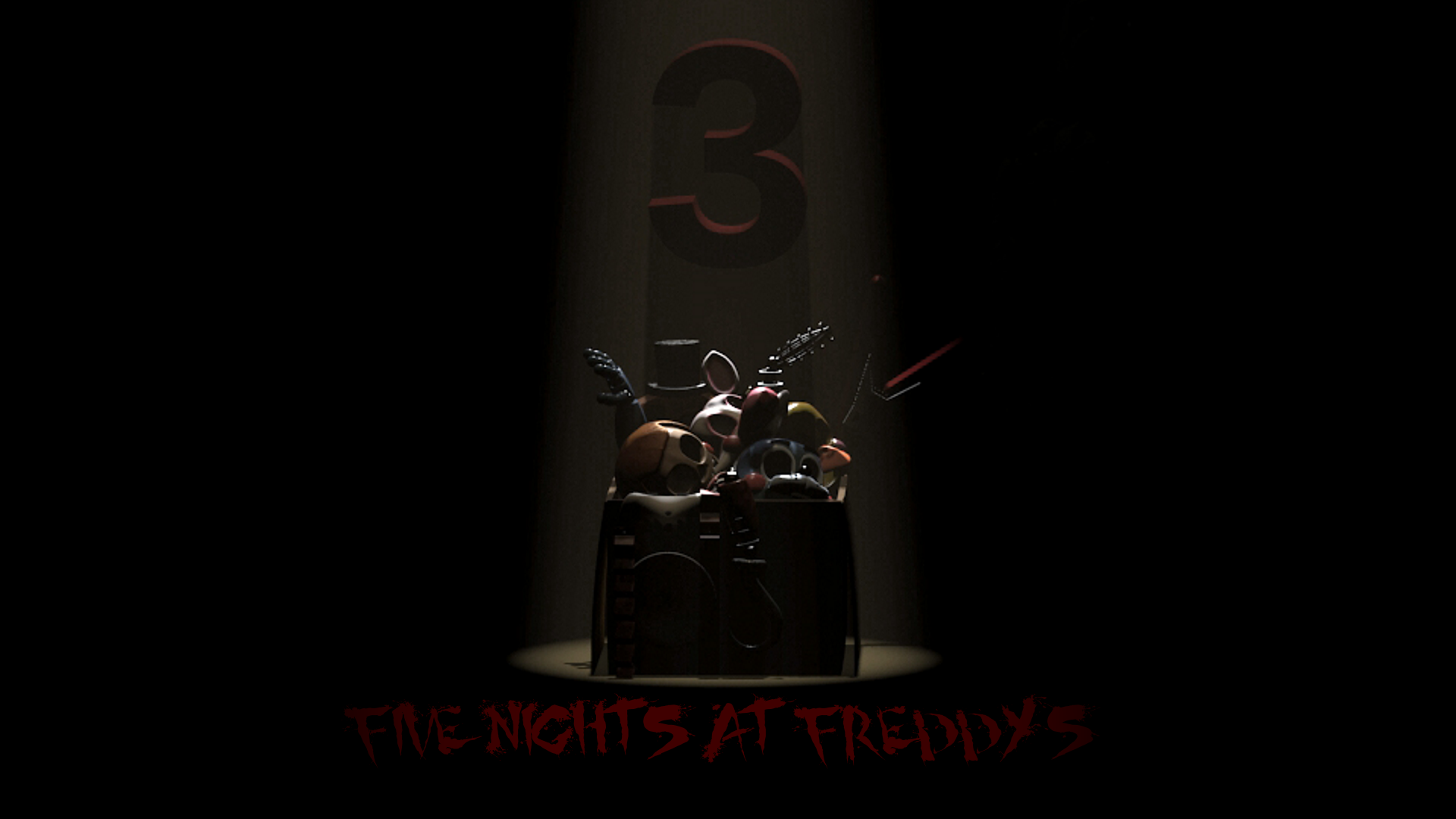 Free Download Five Nights At Freddys 3 Official Poster 2 By