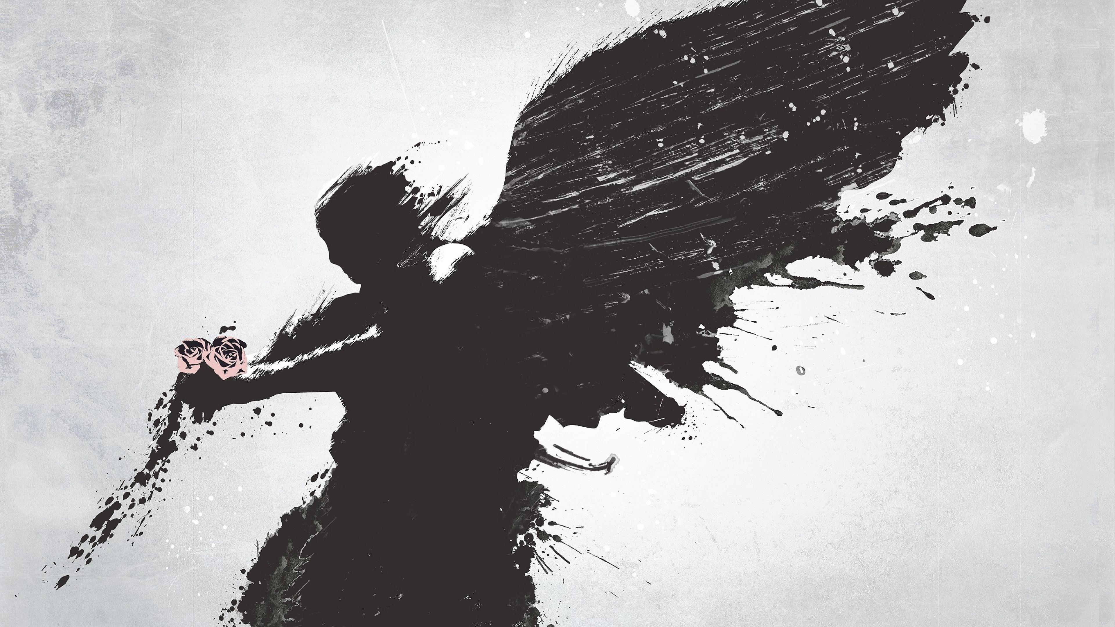 67 Angel Wings Wallpapers on WallpaperPlay 3840x2160