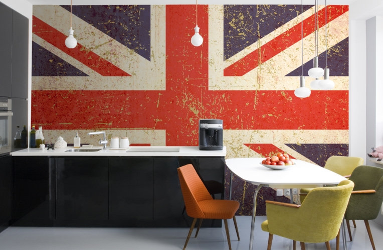 Union Jack Wallpaper Wall Mural | MuralsWallpaper.co.uk Part 86