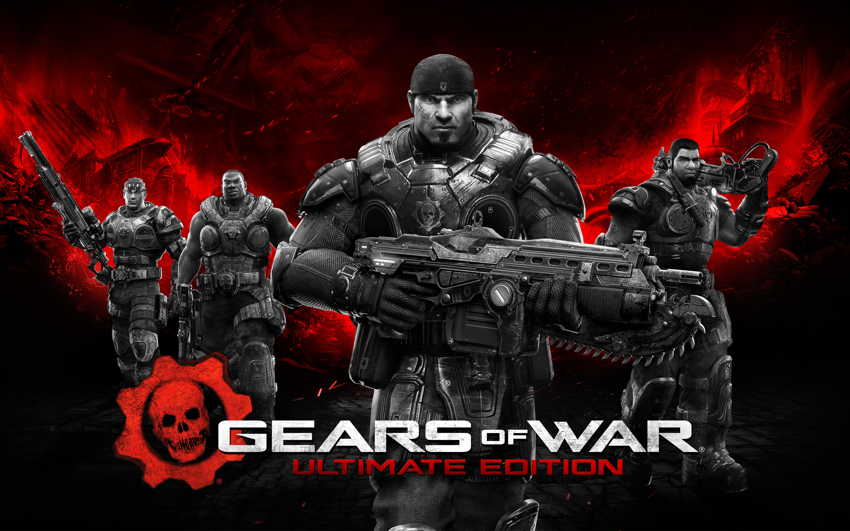 Gears of War Ultimate Edition Wallpapers HD Wallpapers 2880x1800