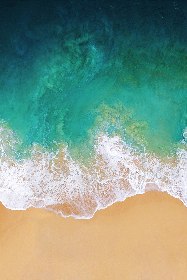 Download the Real iOS 11 Wallpaper for iPhone   iClarified 640x960