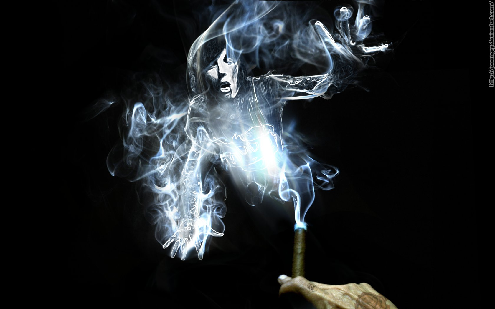 Oli smoke wallpaper by Joeangry 1680x1050
