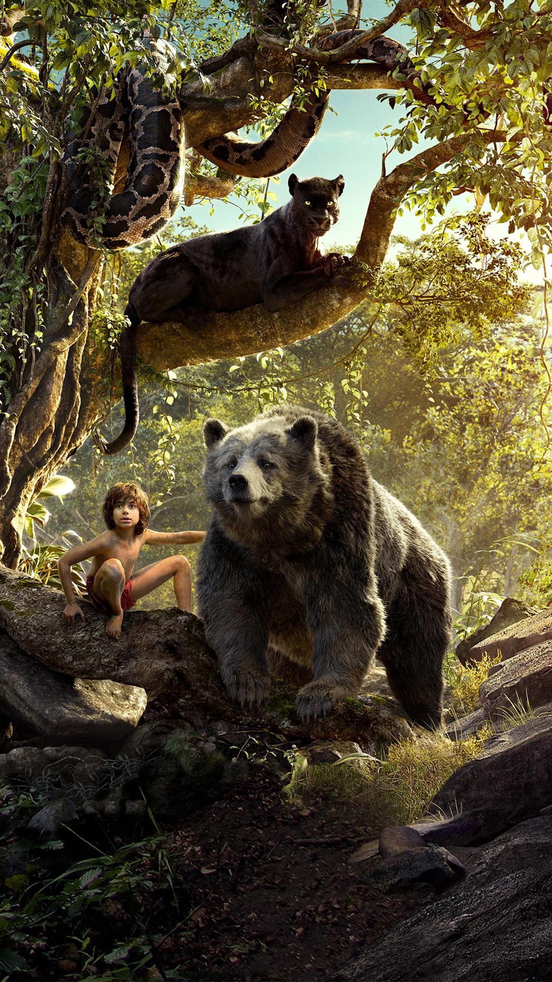 Free Download The Jungle Book Wallpaper Affiche Le Livre De