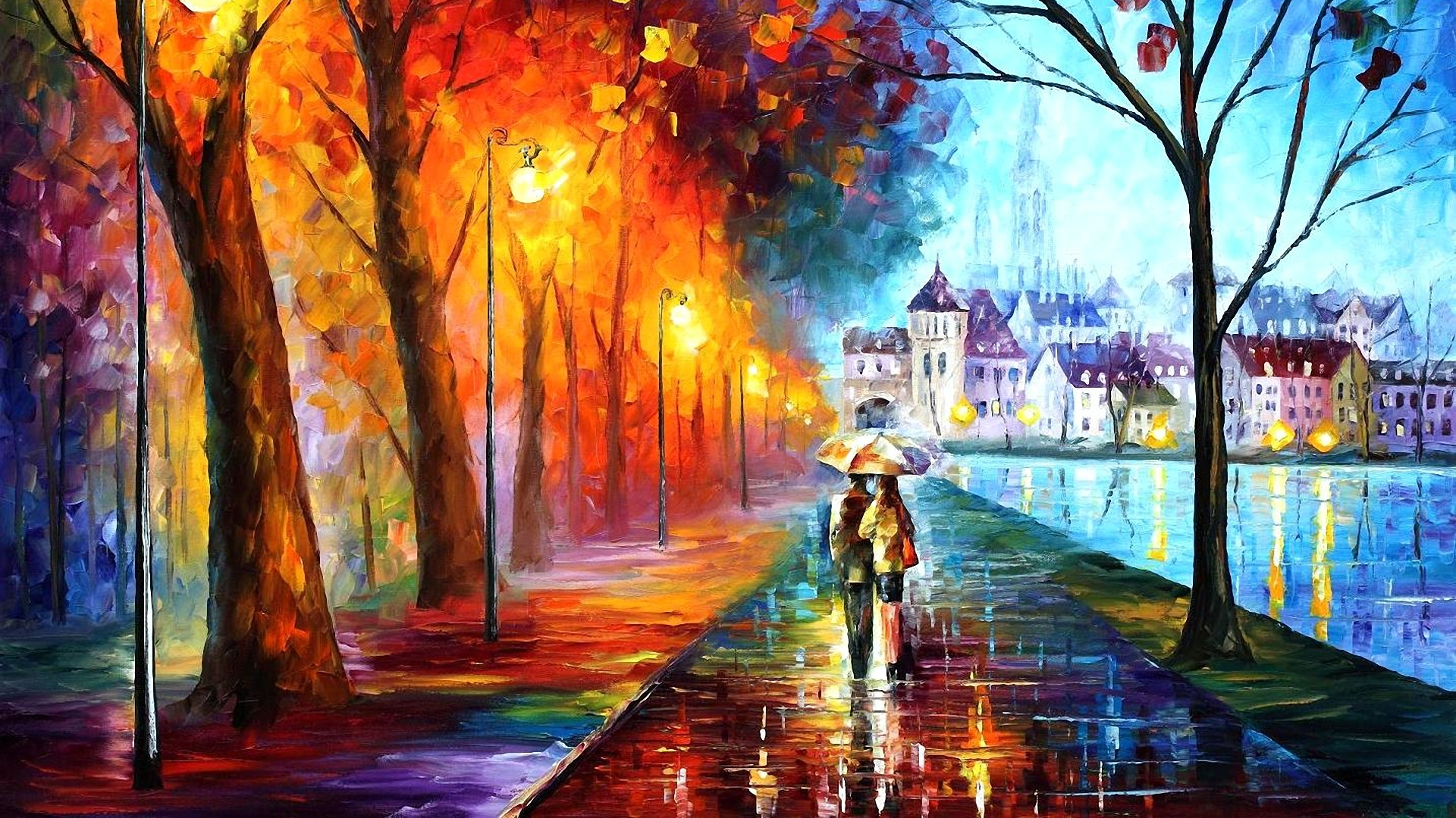 leonid afremov Archives HD Wallpapers 1920x1080