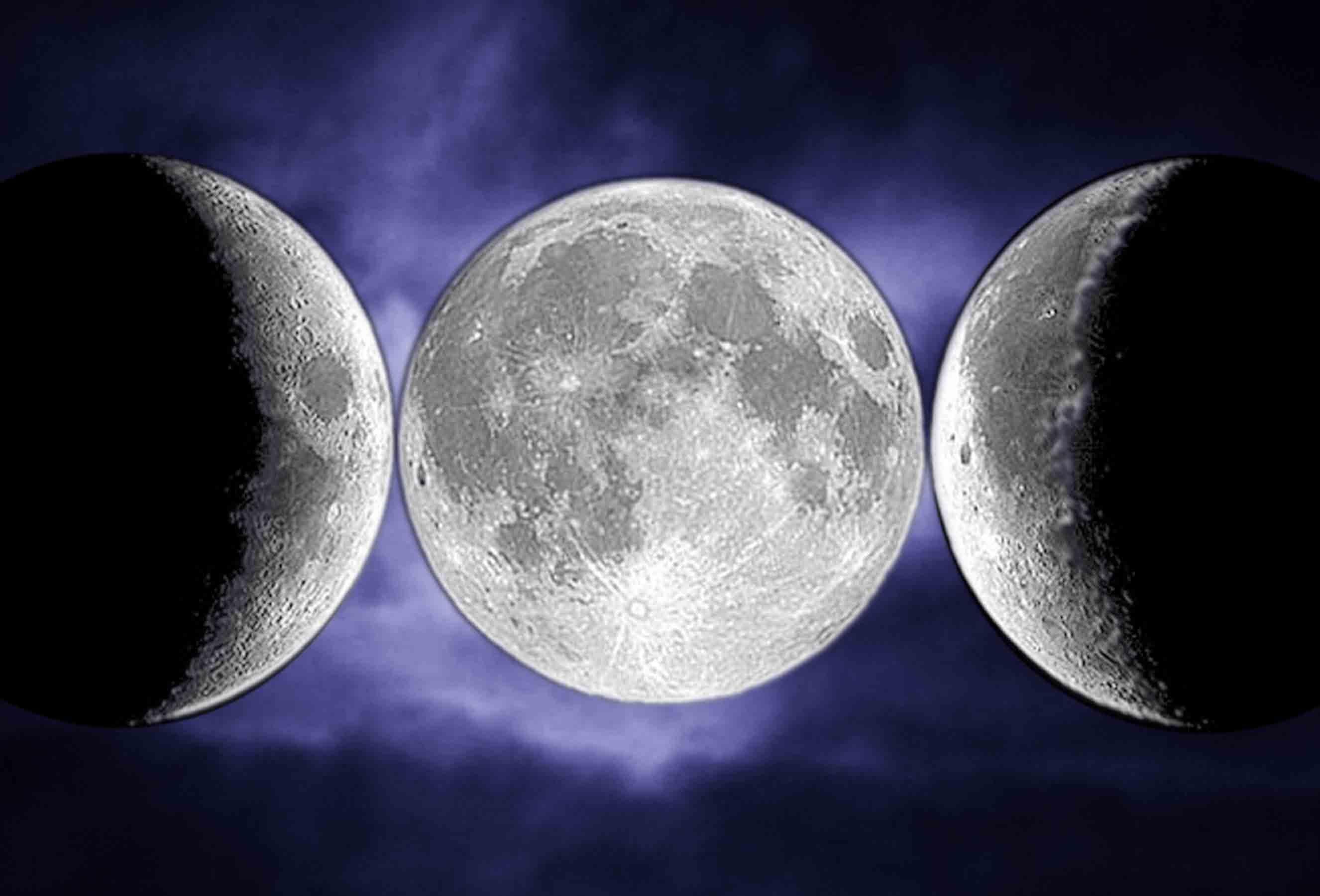 Wiccan three moon symbol view symbol biocorpaavc