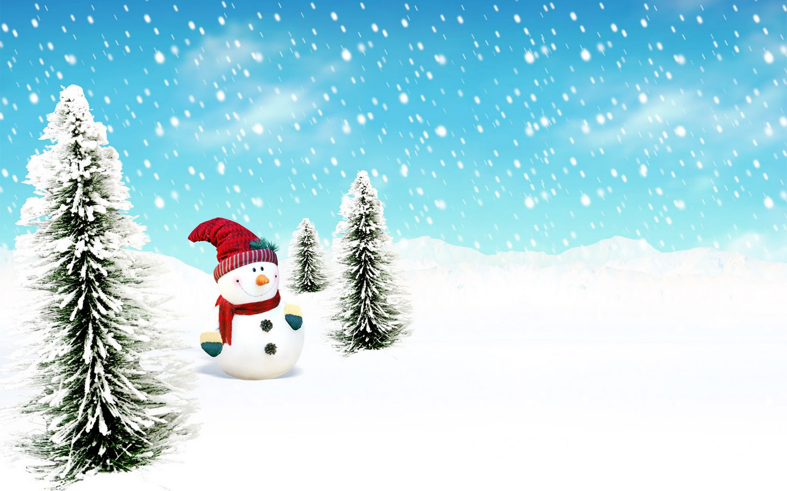 Cute Snowman Winter HD Wallpapers HD Wallpapers Backgrounds Photos 1600x1000