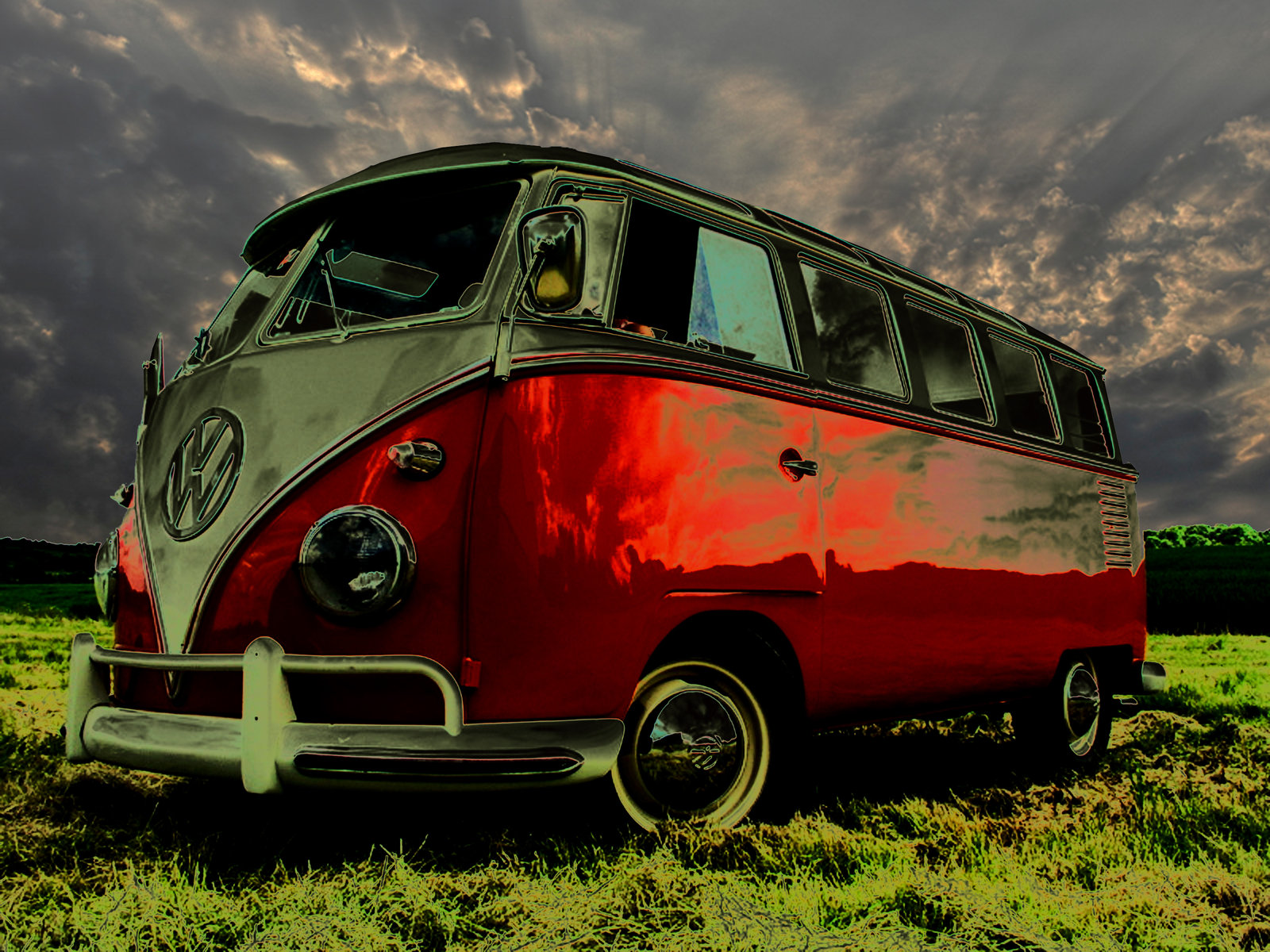 Volkswagen Camper Van Wallpaper vw Camper Van Wallpapers 1600x1200