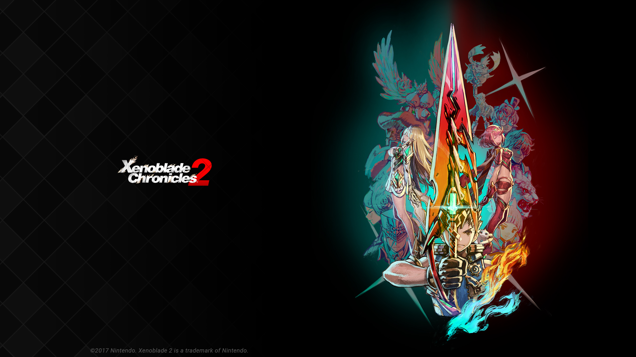 17 Xenoblade Chronicles 2 HD Wallpapers Background Images 2560x1440