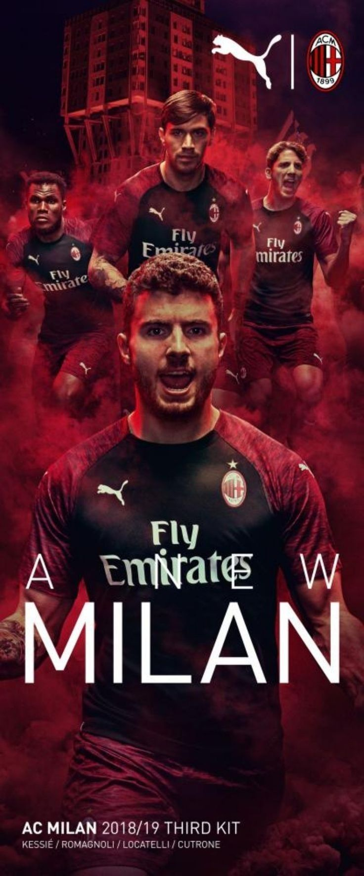 Pin by Floky 81 on Forza Milan Milan wallpaper Milan Ac milan 736x1768