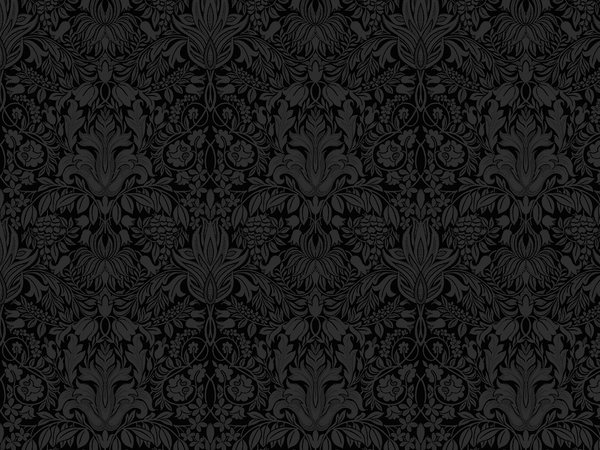 Black Floral Backgrounds Tumblr Wallpaper By 600x450