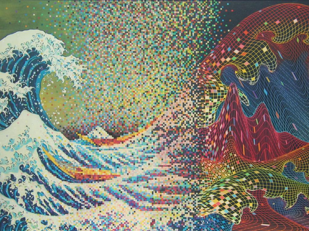 43 Great Wave Off Kanagawa Wallpaper On Wallpapersafari