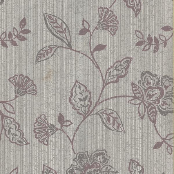 Adelise Mauve Jacobean   Modern   Wallpaper   by Wallpaper Warehouse 600x600