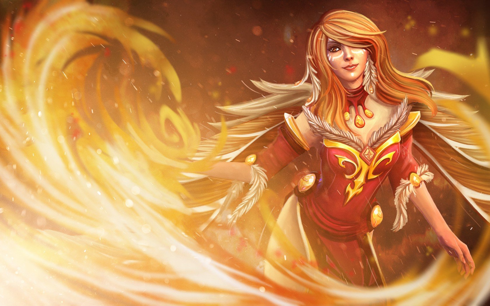 Lina wallpapers for computer Wallpapers Dota 2 private 1680x1050