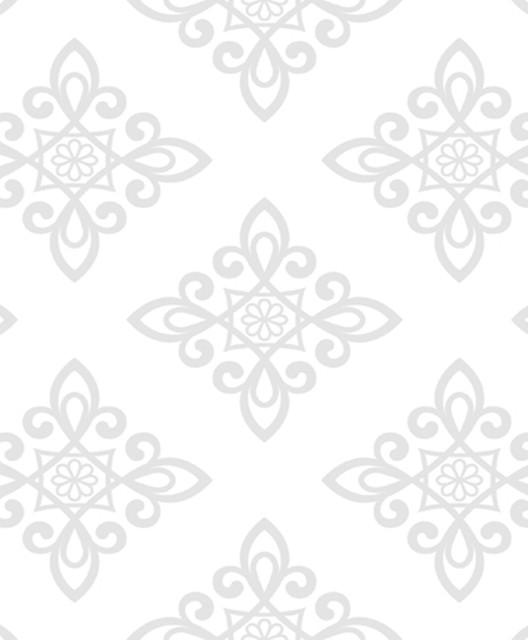 Lattice Pattern Wallpaper Offwhite Grey   Traditional   Wallpaper 528x640