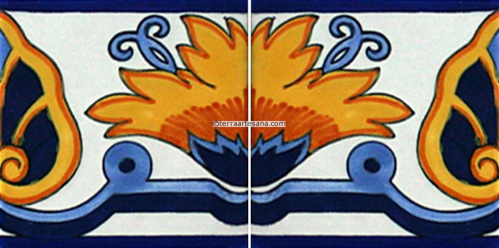 Mexican Design Border Mexican Talavera Border Tile 39 1005x500