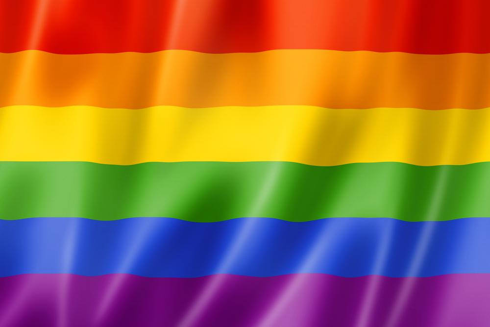 The Jewish Autonomous Oblast flag L and the Gay Pride flag R Its 1000x667