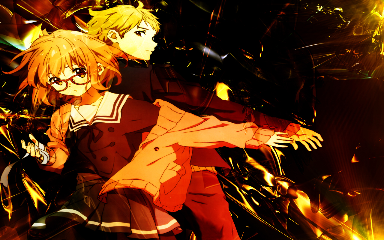 Free Download Beyond The Boundary Mirai And Akihito By