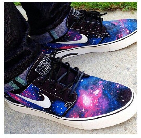 Need Dope Nike Janoskis Galaxy JanoskiShoes Pinterest 540x531