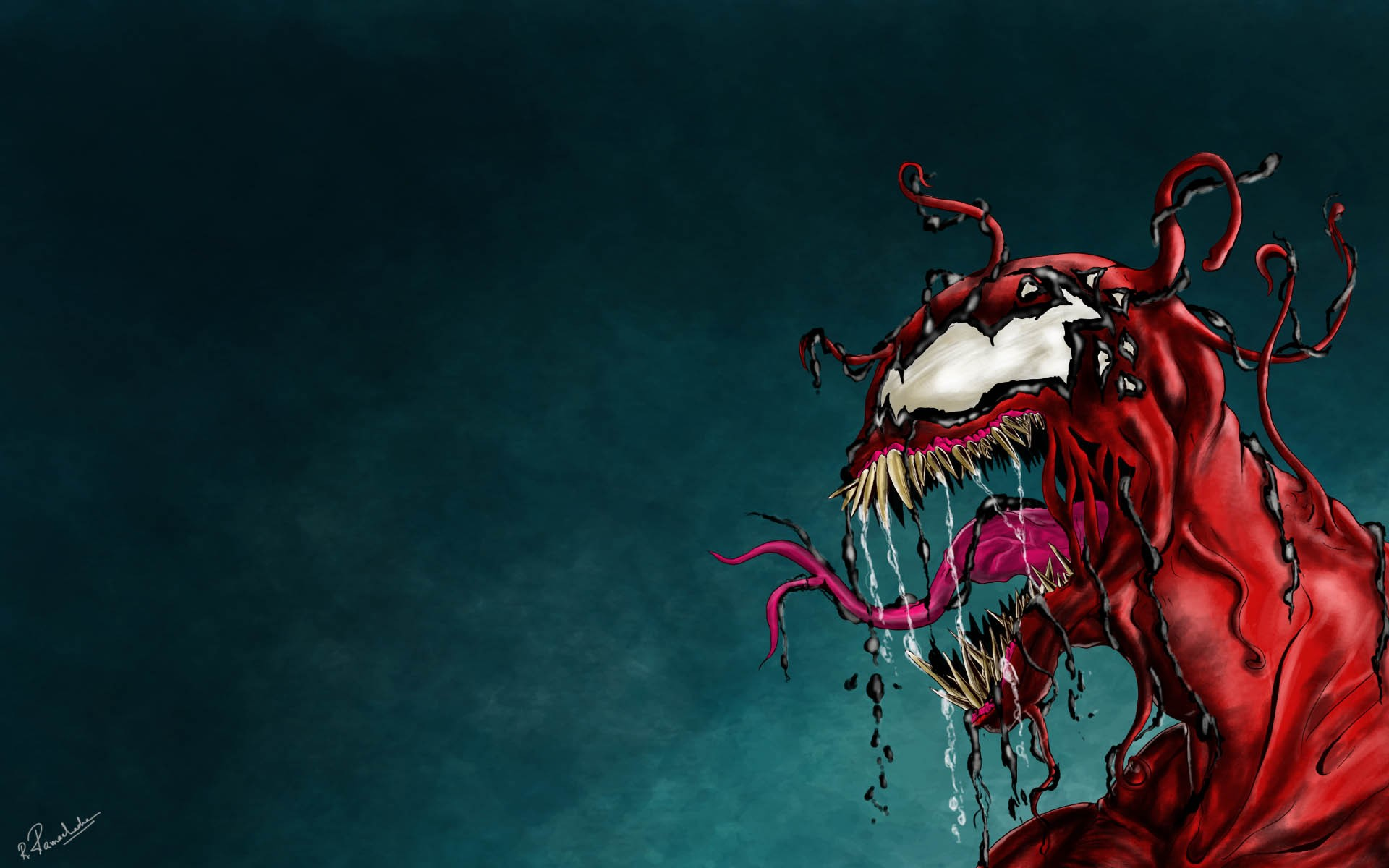 44 Venom And Carnage Wallpaper On Wallpapersafari