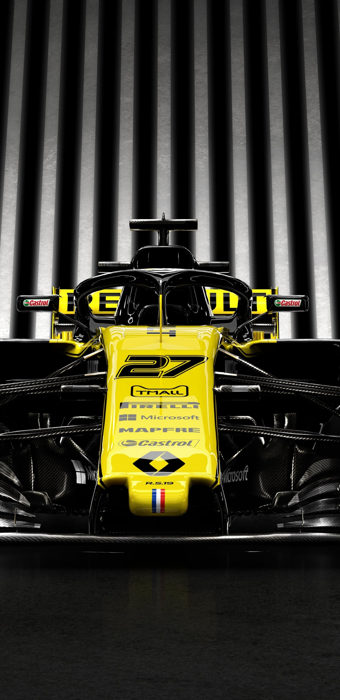 Download 1440x2960 Renault Rs19 Formula 1 Racing Cars Yellow 1440x2960