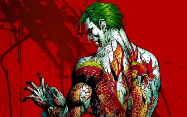 DC Comics batman dc comics the joker cartoonish 1280x800 wallpaper 600x375