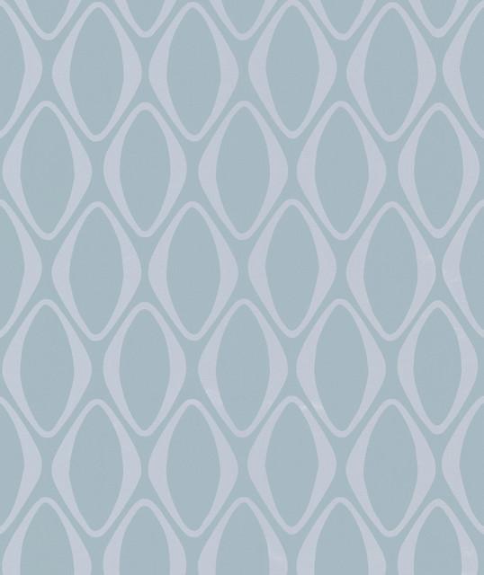 Eclipse Light Blue Diamond Geometric Wallpaper contemporary wallpaper 538x640