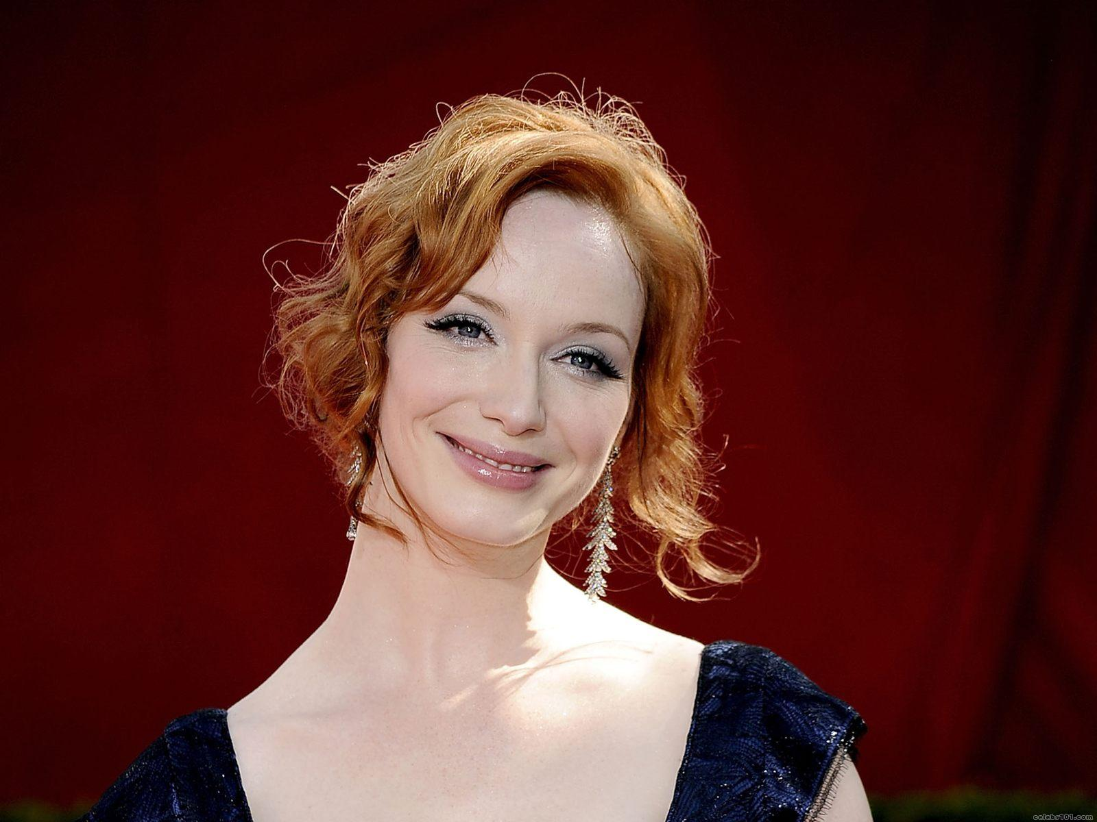 Christina Hendricks HD Wallpapers for desktop download 1600x1200