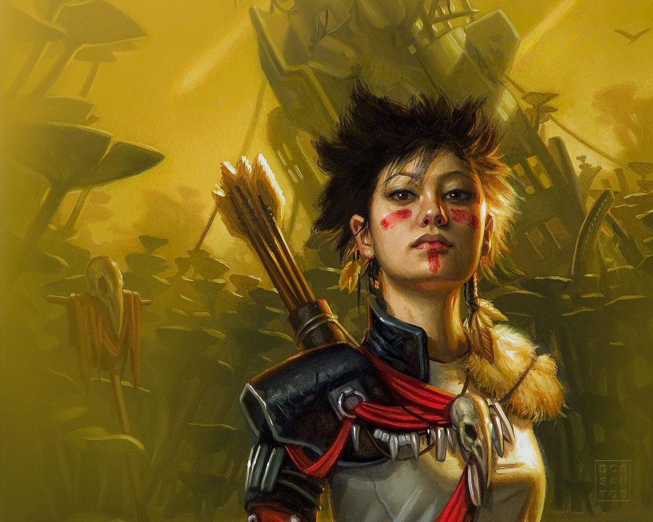 warrior girl wallpaper wallpapersafari