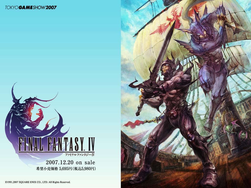 Final Fantasy Final Fantasy IV Wallpapers 1024x768