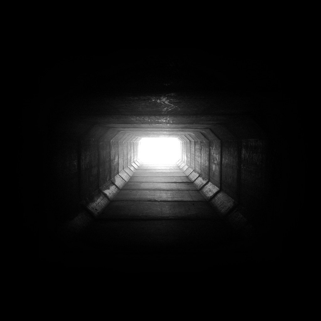 The Light At The End Of The Tunnel   Download iPadiPad2 Wallpaper 1024x1024