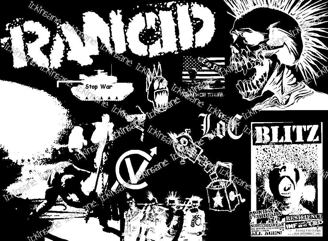 Punk Skull Wallpaper Wallpapersafari
