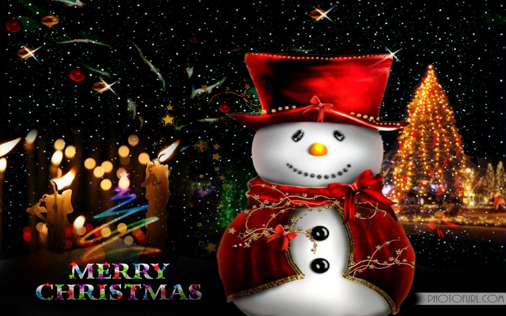 Happy Christmas Wallpaper For Desktop Background And Laptop Or 1024x640