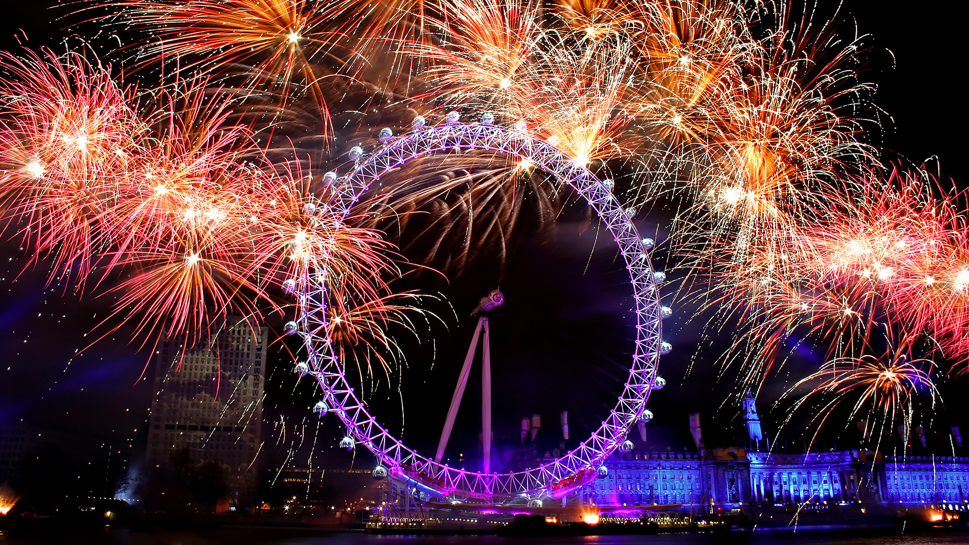 Animated Fireworks Wallpaper - WallpaperSafari