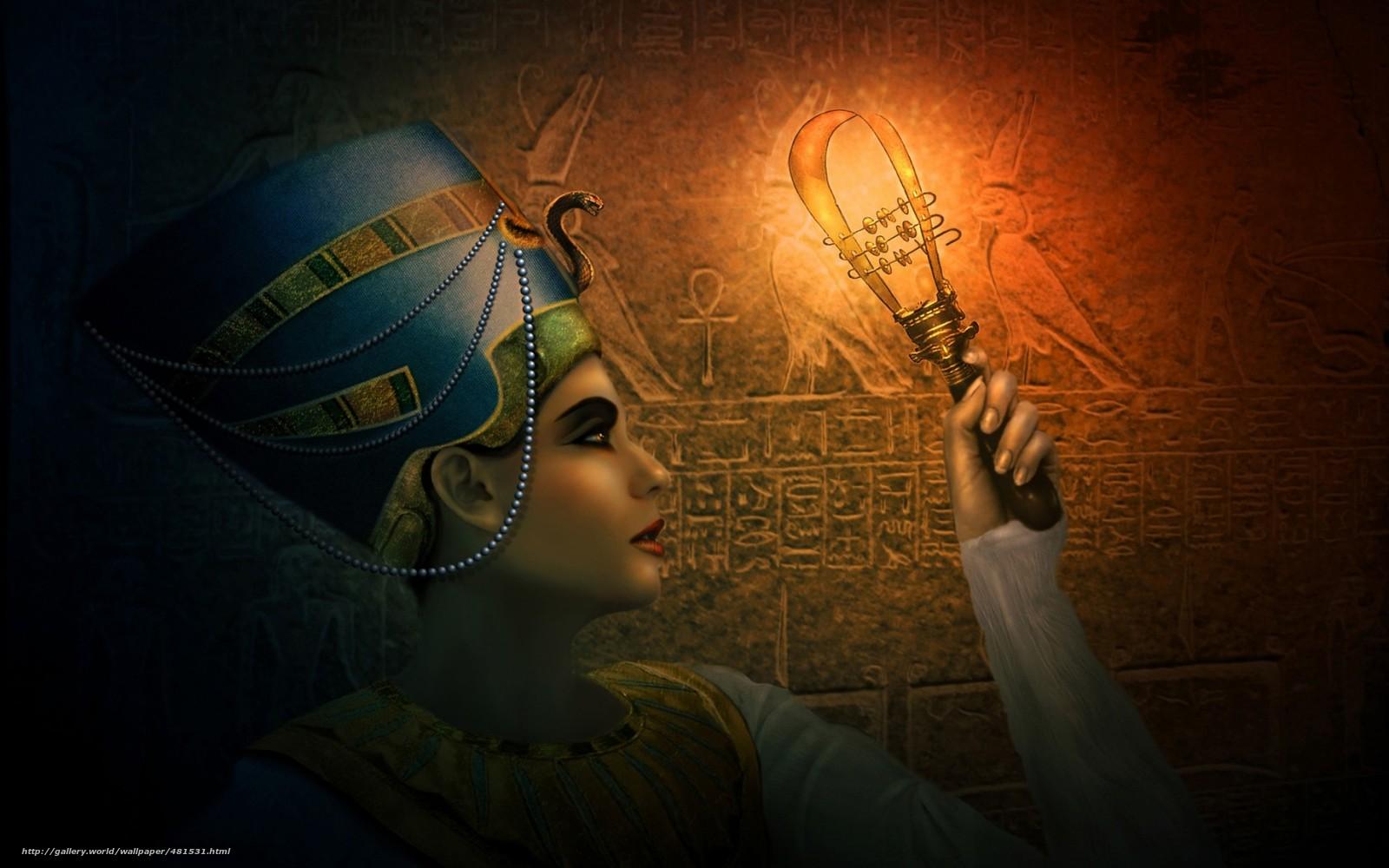 wallpaper Nefertiti girl Egypt Egyptian desktop wallpaper 1600x1000