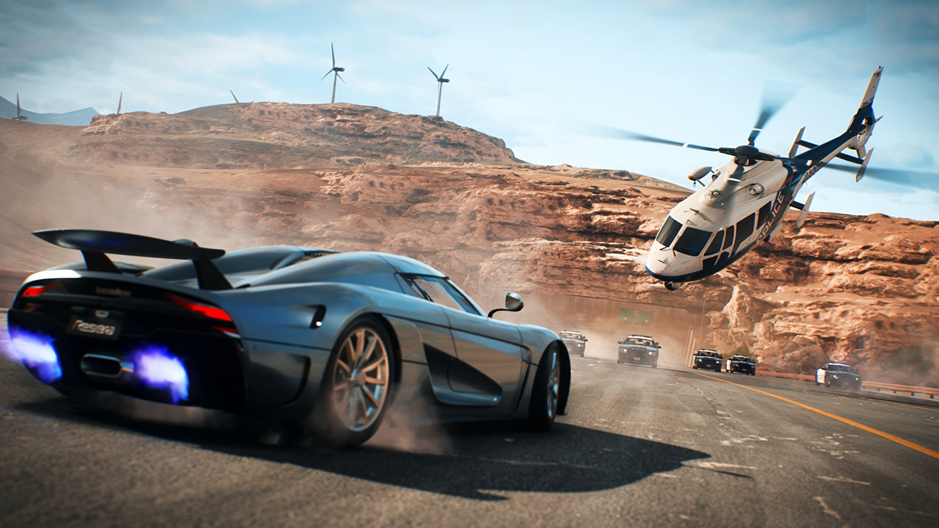 HD Need for Speed Payback Sports Car Police Chase 166 1920x1080