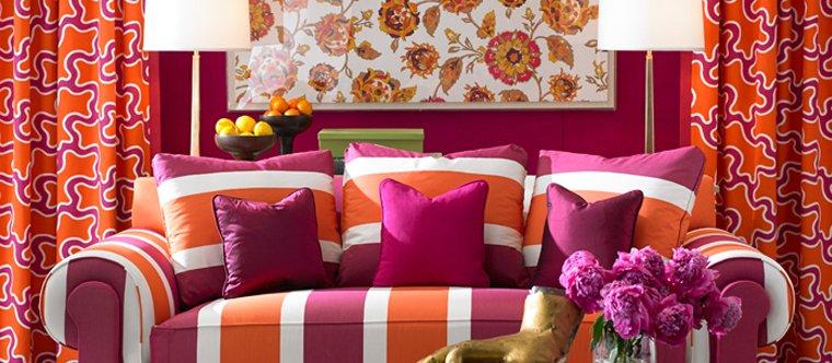 Coordinating Wallpaper and Drapery Fabrics National Drapery 760x332