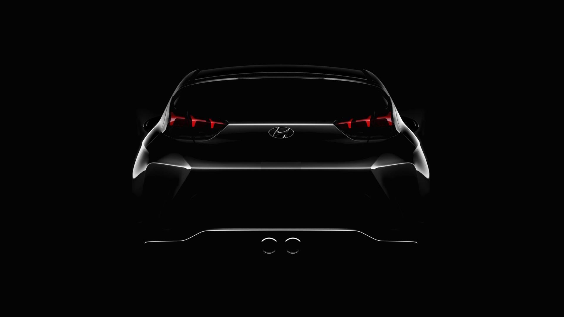 2019 Hyundai Veloster teased ahead of Detroit debut 1920x1080