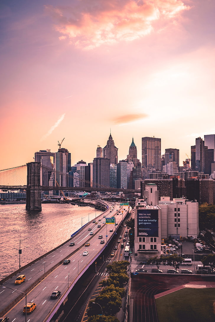 Free Download Hd Wallpaper Brooklyn New York Skyscrapers