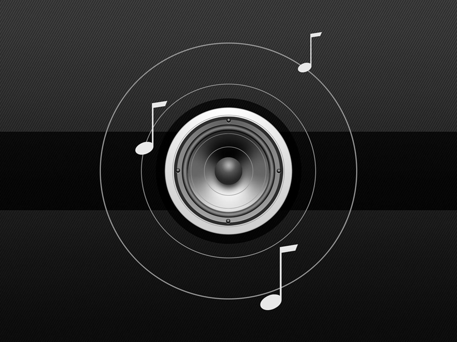 Desktop Wallpaper Gallery 3D Art Sound Background 1600x1200
