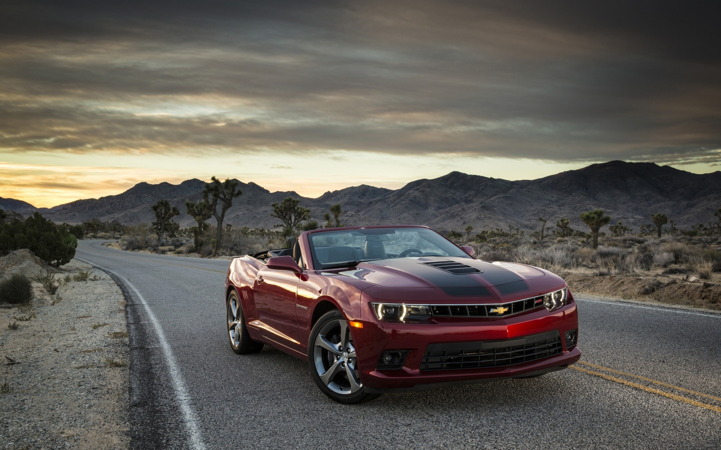 2015 Chevrolet Camaro SS Convertible Wallpaper HD Car 1440x900